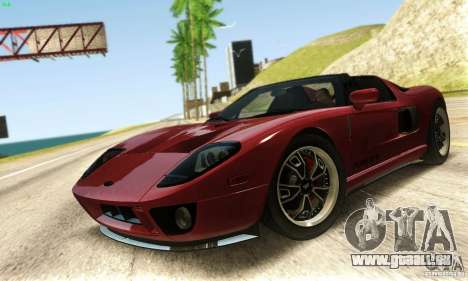 Ford GTX1 Roadster V1.0 pour GTA San Andreas