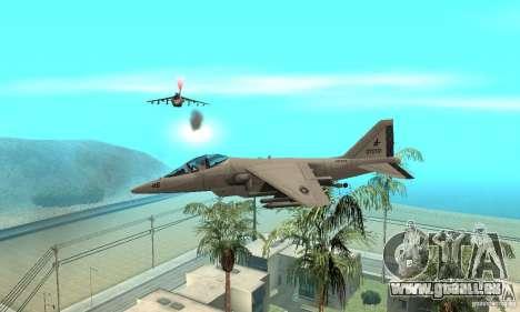 Guerre aérienne pour GTA San Andreas quatrième écran