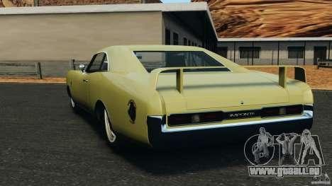 New Dukes pour GTA 4 Vue arrière de la gauche