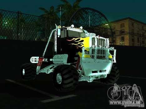 Kenworth W900 Monster pour GTA San Andreas vue arrière