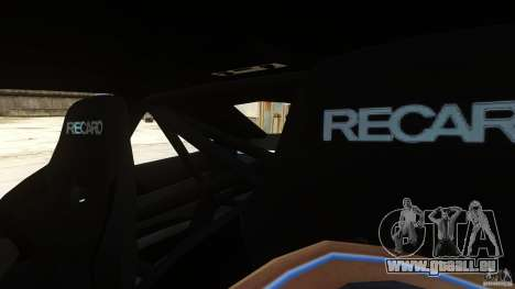 BMW M3 GTS Final pour GTA 4 est une vue de l'intérieur