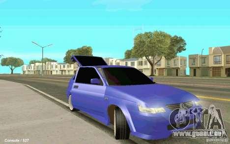 Lada 2112 Coupe pour GTA San Andreas sur la vue arrière gauche