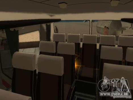 LAZ 699R 98021 pour GTA San Andreas vue de dessus