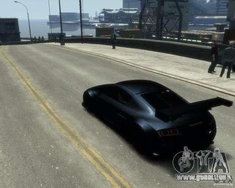 Audi R8 LMS pour GTA 4 est une gauche