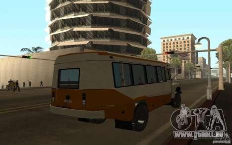 KAVZ 3976 KAVZOZIL für GTA San Andreas Rückansicht