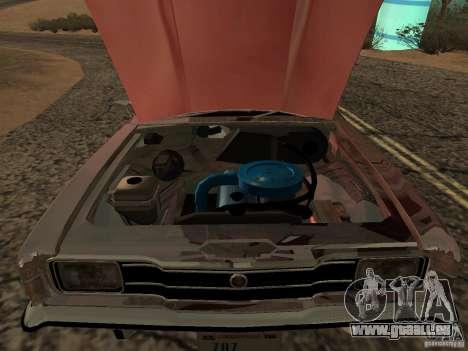 Ford Cortina MK 3 2000E pour GTA San Andreas sur la vue arrière gauche