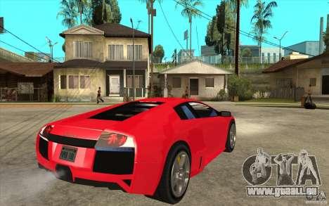 Lamborghin Murcielago LP640 v2 für GTA San Andreas rechten Ansicht