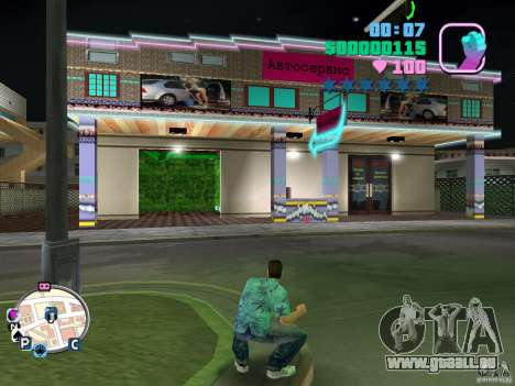 Autoservice and Sex Shop für GTA Vice City