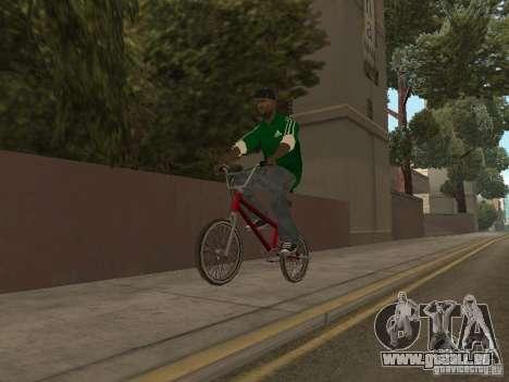 New Sweet pour GTA San Andreas cinquième écran