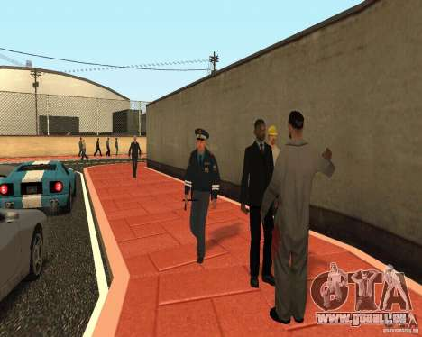 Major DPS pour GTA San Andreas deuxième écran