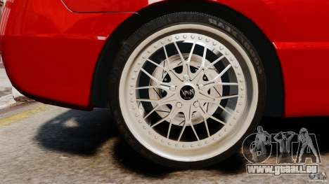 Honda Civic Si pour GTA 4 Vue arrière