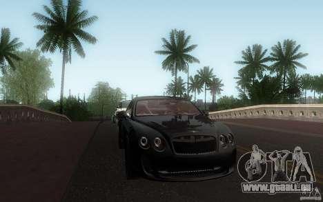 Bentley Continental SS für GTA San Andreas Seitenansicht