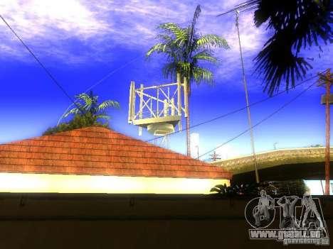 Base de Grove Street pour GTA San Andreas quatrième écran