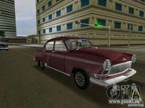 Gaz-21r 1965 pour une vue GTA Vice City de la gauche