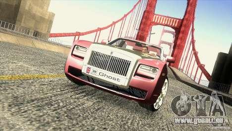 Rolls-Royce Ghost 2010 V1.0 für GTA San Andreas Innen
