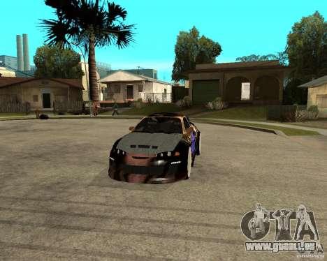 Mitsubishi Eclipse RZ 1998 pour GTA San Andreas vue arrière