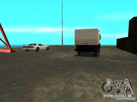 Renouvellement de la base militaire sur les quai pour GTA San Andreas neuvième écran