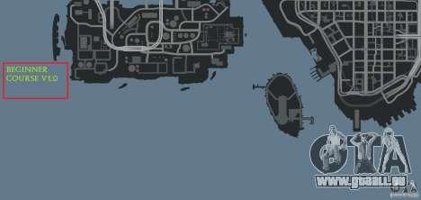 Beginner Course v1.0 pour GTA 4 neuvième écran