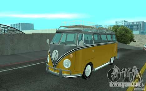 Volkswagen Transporter T1 SAMBAQ CAMPERVAN pour GTA San Andreas