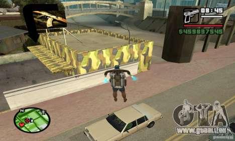 Gun Shop auf Grove für GTA San Andreas