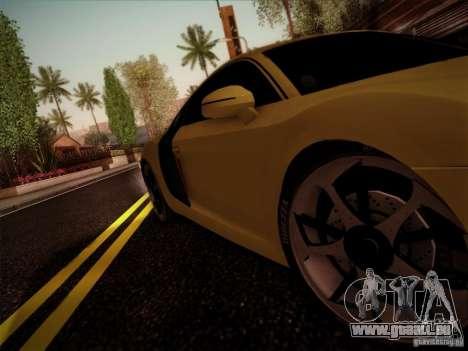 Audi R8 custom pour GTA San Andreas vue de droite