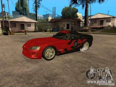 Dodge Viper für GTA San Andreas Seitenansicht