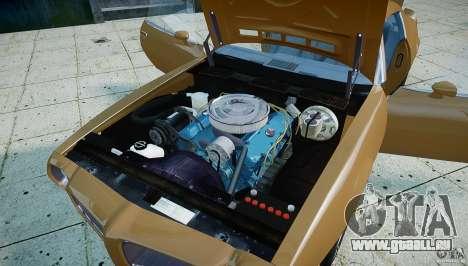 Pontiac Firebird 1970 pour GTA 4 Vue arrière