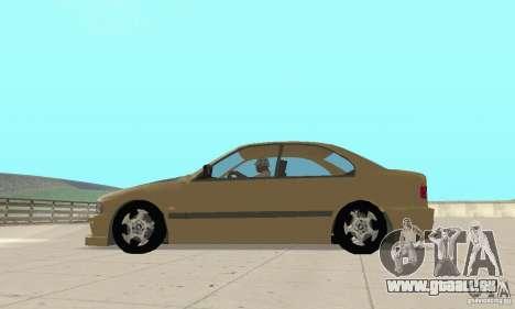 Bmw 528i für GTA San Andreas linke Ansicht