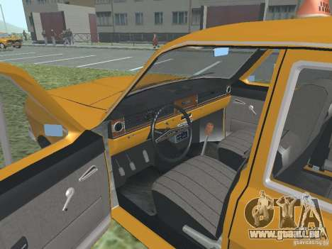 Taxi GAZ 24-01 pour GTA San Andreas vue de côté