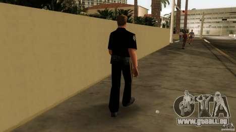 Neue Kleidung Bullen für GTA Vice City dritte Screenshot