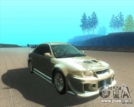 Mitsubishi Lancer Evolution VI 1999 Tunable für GTA San Andreas