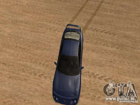 Acura RSX Light Tuning pour GTA San Andreas vue intérieure