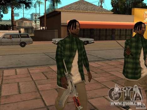 Pak inländischen Waffen Version 3 für GTA San Andreas fünften Screenshot