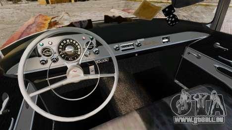 Chevrolet Bel Air 1957 Rusty pour GTA 4 Vue arrière