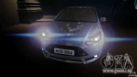 Ford Focus 3 ST pour GTA 4 Vue arrière