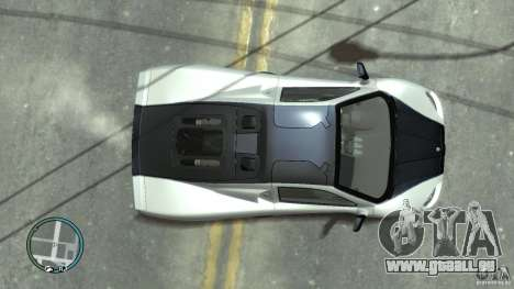 Shelby Super Cars Ultimate Aero pour GTA 4 Vue arrière