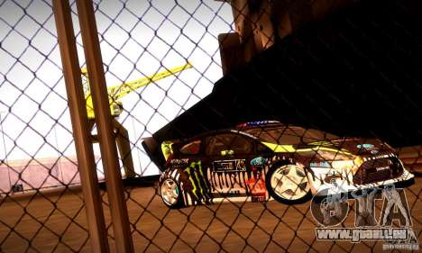 Ford Fiesta Gymkhana 4 für GTA San Andreas linke Ansicht
