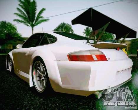 Porsche 911 GT3 pour GTA San Andreas laissé vue