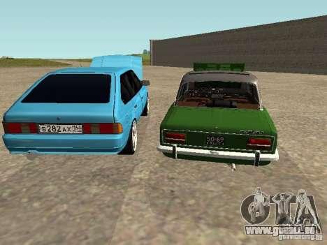 Moskvich 2141 pour GTA San Andreas moteur