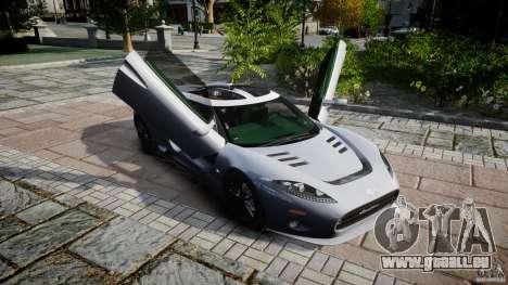 Spyker C8 Aileron v1.0 für GTA 4