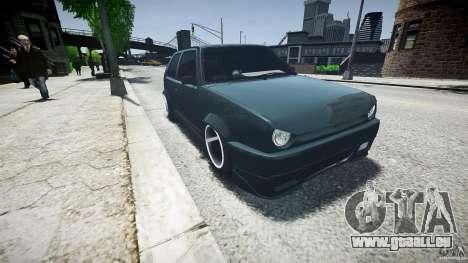 Volkswagen Golf 2 Low is a Life Style für GTA 4