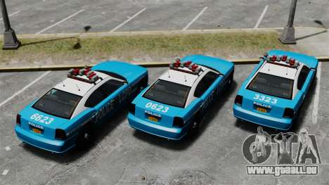 Bravado Buffalo ELS für GTA 4 Rückansicht