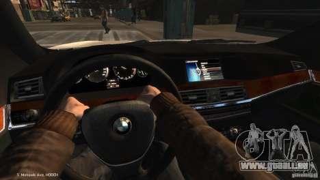 BMW 550i Azeri Police YPX pour GTA 4 est un droit