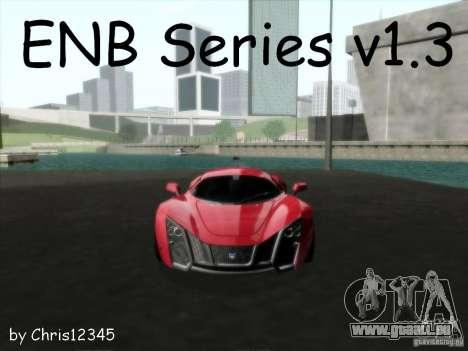 ENBSeries v1.3 pour GTA San Andreas