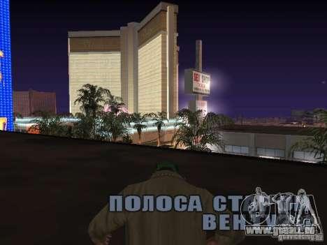 corde pour GTA San Andreas quatrième écran