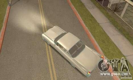Cadillac 1959 pour GTA San Andreas sur la vue arrière gauche