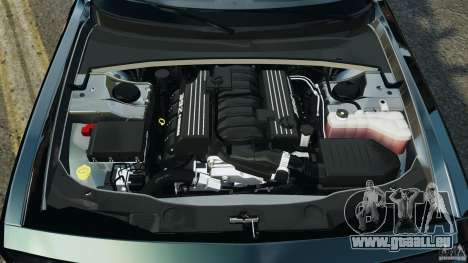 Dodge Challenger SRT8 392 2012 Police [ELS][EPM] pour GTA 4 vue de dessus