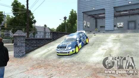 Subaru Impreza WRX STI Rallycross SHOEL Vinyl pour GTA 4