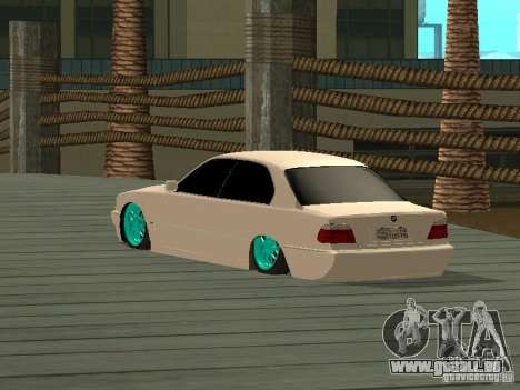 BMW 750i JDM für GTA San Andreas linke Ansicht