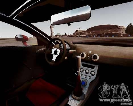 Ascari A10 2007 v2.0 pour GTA 4 est une vue de l'intérieur